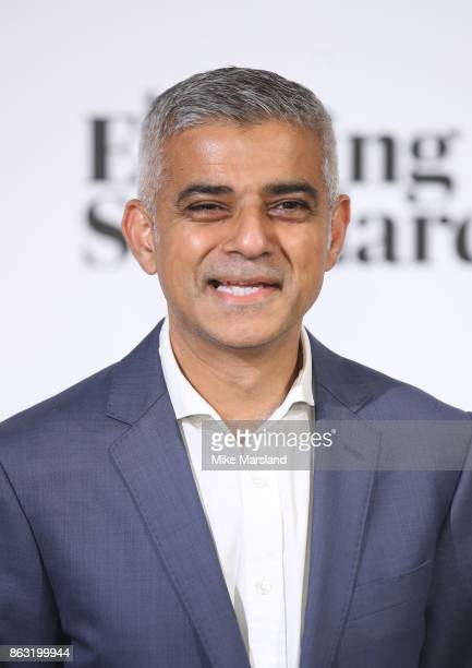 Sadiq Khan attends London Evening Standard's Progress 1000 London's Most Influential People event at on October 19 2017 in London England