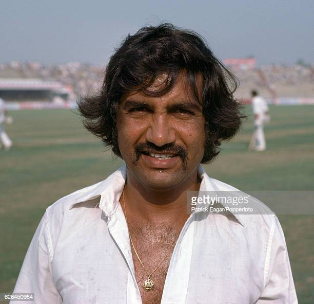 Sadiq Mohammad of Pakistan during the 2nd Test match between Pakistan and India at the Gaddafi Stadium Lahore Pakistan 27th October 1978