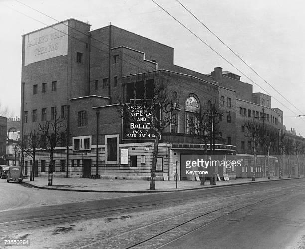 Sadler's Wells theatre on Rosebery Avenue London circa 1935