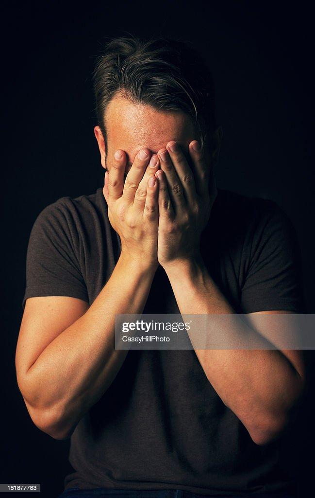 Sadness and Regret : Stock Photo