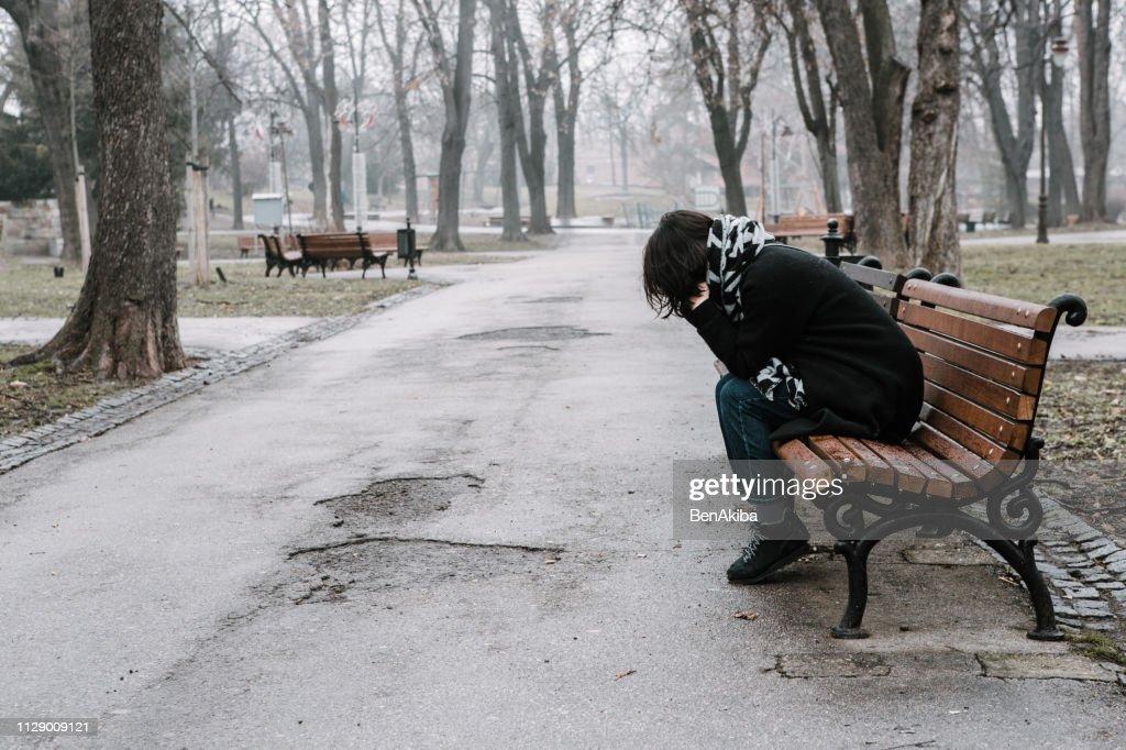 Sadness : Stock Photo