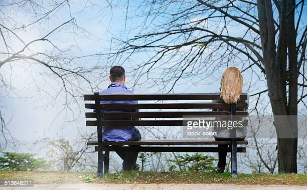 sadness today - couple arguing stock photos and pictures