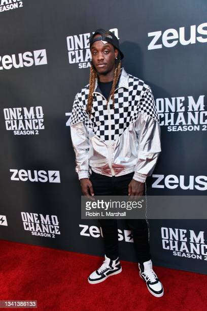 """Sadon Moosane attends Zeus Network's """"One Mo Chance"""" Season 2 Premiere at AMC Universal at City Walk on September 19, 2021 in Universal City,..."""