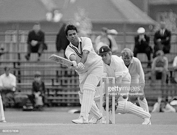 Saeed Ahmed batting for International Cavaliers during the match between Hampshire and International Cavaliers at the County Ground Southampton 28th...