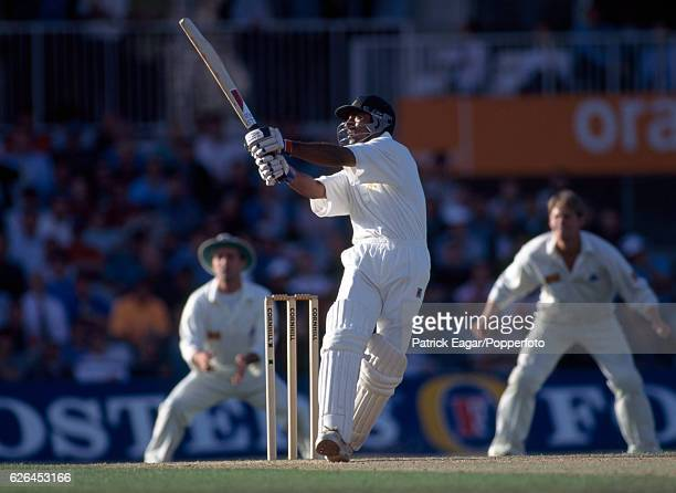 Saeed Anwar batting for Pakistan during his innings of 176 in the 3rd Test match between England and Pakistan at The Oval London 23rd August 1996