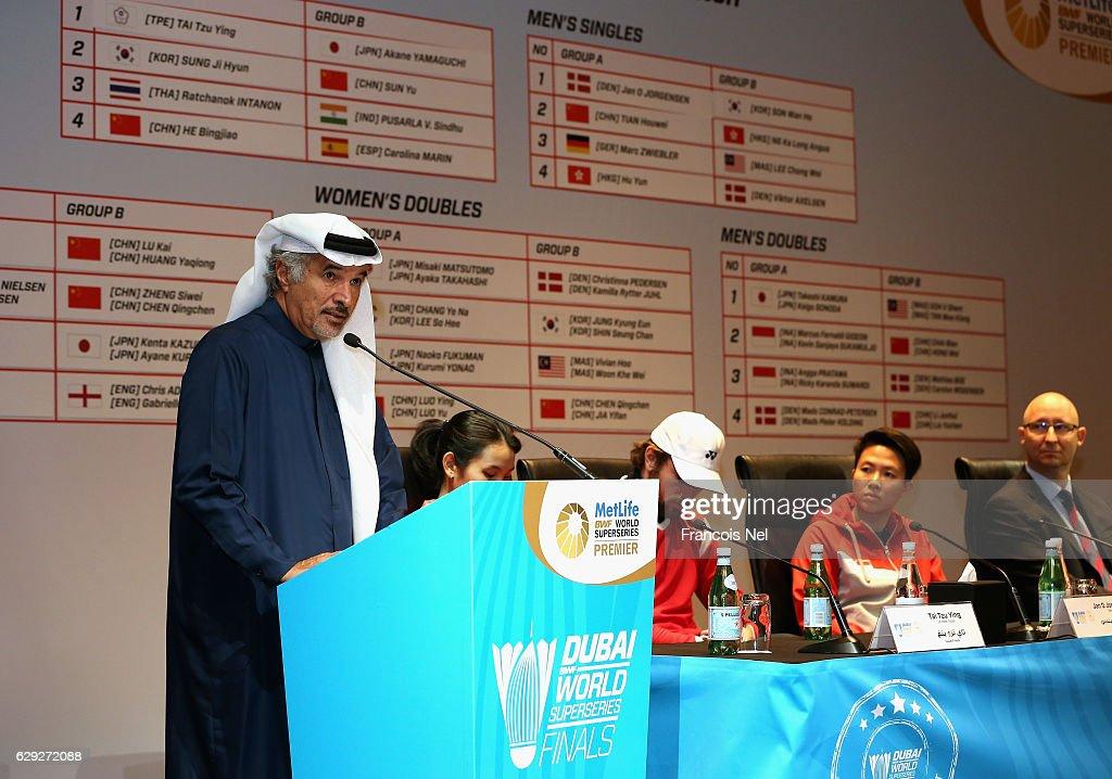 BWF Dubai World Superseries Finals - Previews : Nachrichtenfoto