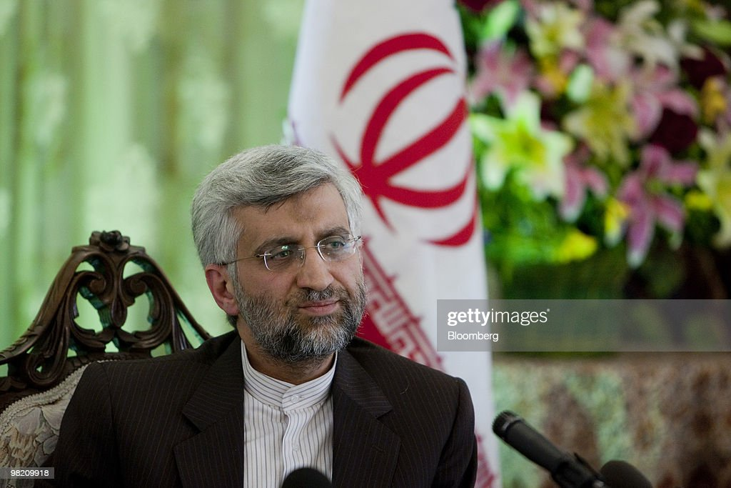 Jalili, Iran's Top Nuclear Negotiator, Holds News Conference