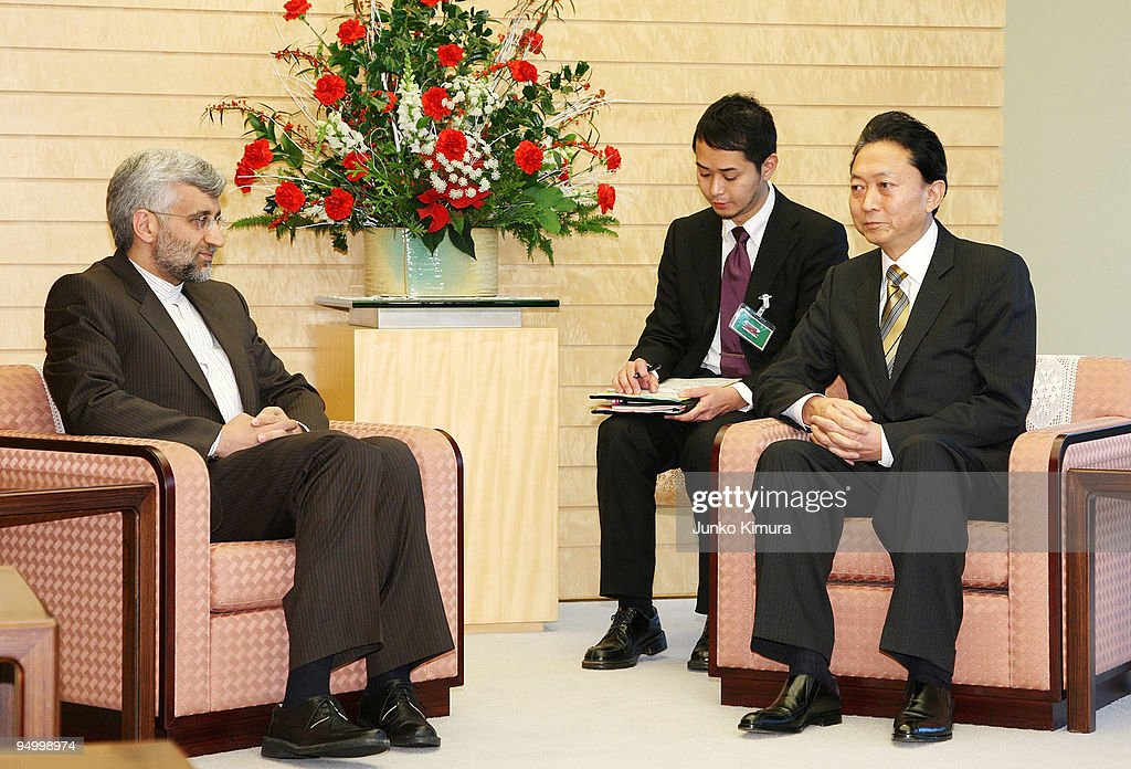 Secretary Of Supreme National Security Council Of Iran Visits Japan