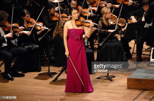 Saeka Matsuyama during Good Night Alice Cocktail Party and Gala Concert April 30 2007 at Alice Tully Hall in New York City New York United States