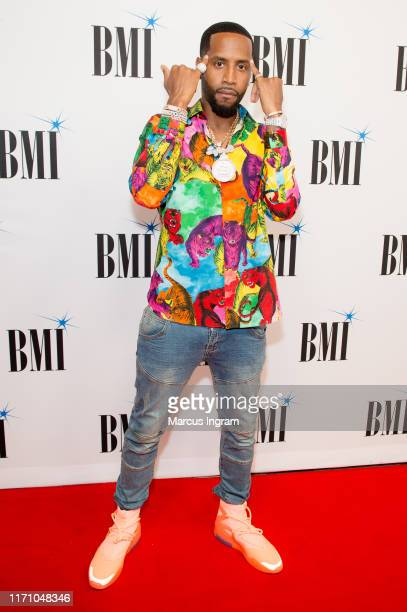 Safaree Samuels attends the 2019 BMI RB/HipHop Awards on August 29 2019 in Sandy Springs Georgia