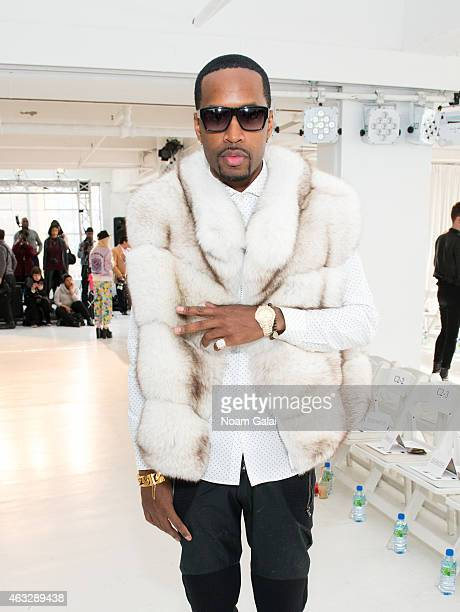 Safari attends the Darkoh fashion show during MercedesBenz Fashion Week Fall 2015 at The Designer's Loft on February 12 2015 in New York City