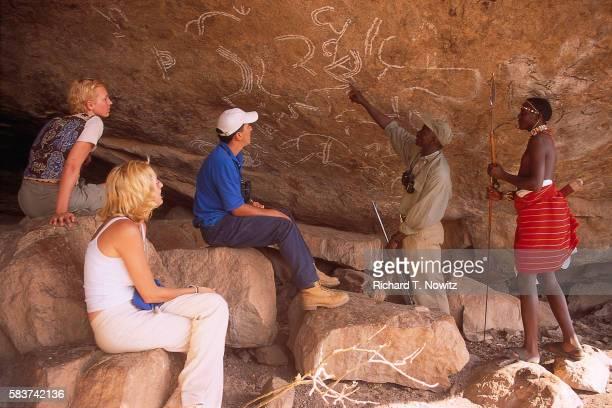 Safari Group at Sacred Cave