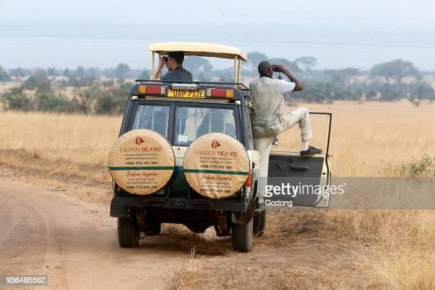 Safari in Murchison national park Uganda