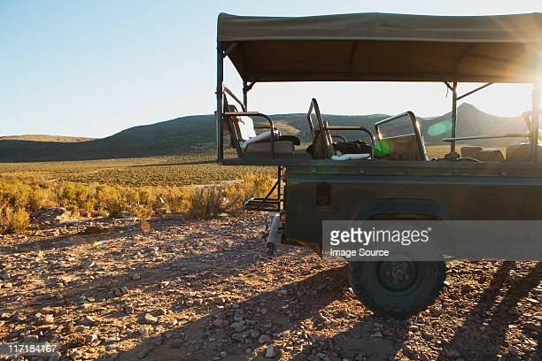 サファリトラック、南アフリカ