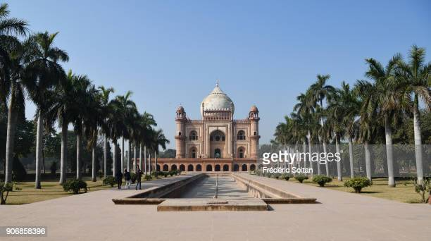 Safdarjung's Tomb is a sandstone and marble mausoleum in New Delhi India It was built in 1754 in the late Mughal Empire style for the statesman...