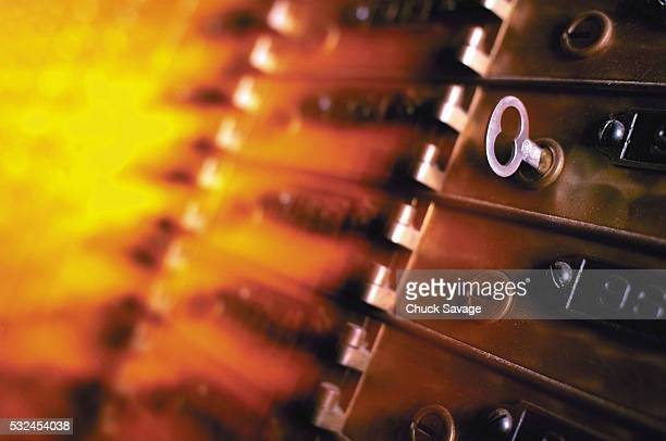 safe deposit boxes and key - safety deposit box stock pictures, royalty-free photos & images
