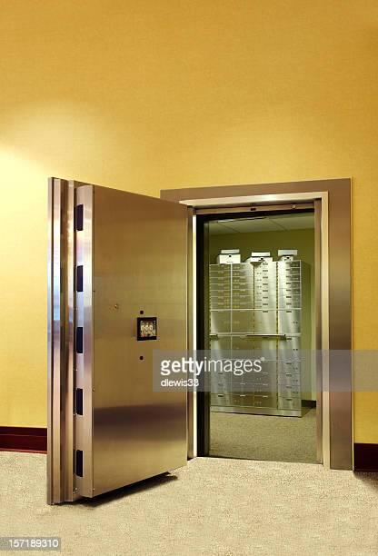 Safe Deposit Boxes Inside Vault