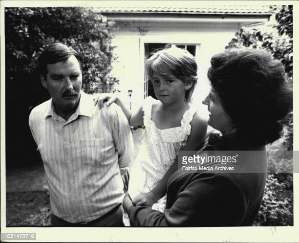 John and Jennifer Woods with Annabel after their ordealA Desperate gunman held a family of seven hostage for three hours in their Sydney home before...