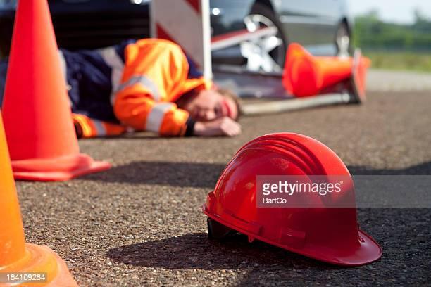 Sicherheit und des Unfalls am Arbeitsplatz.