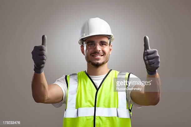 safety and protection at work. - work glove stock photos and pictures