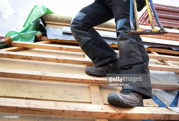 safety at construction site - work shoe stock photos and pictures
