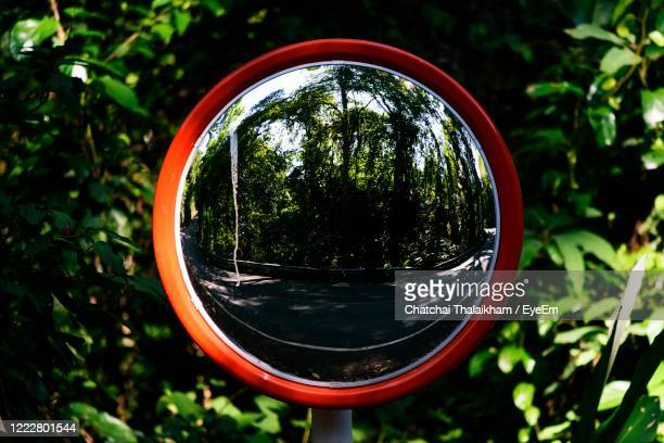 safety convex mirror - chatchai thalaikham stock pictures, royalty-free photos & images