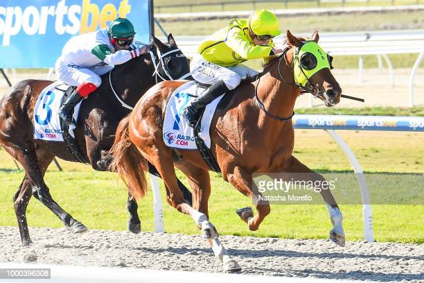 Meeting PostPoned before the Battery Zone 3YO Fillies Maiden Plate at Racingcom Park Synthetic Racecourse on July 17 2018 in Pakenham Australia