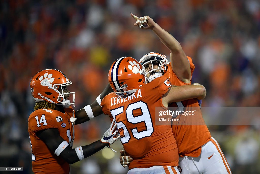 Georgia Tech v Clemson : News Photo
