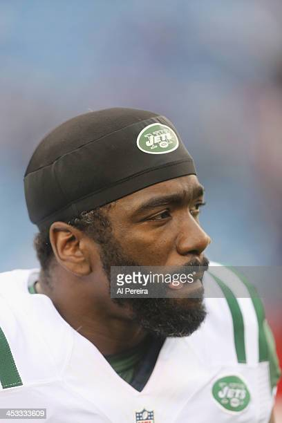 Safety Ed Reed of the New York Jets follows the action against the Buffalo Bills at Ralph Wilson Stadium on November 17 2013 in Orchard Park New York