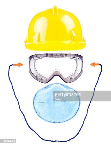 sicherheitsausrüstung - schutzbrille stock-fotos und bilder