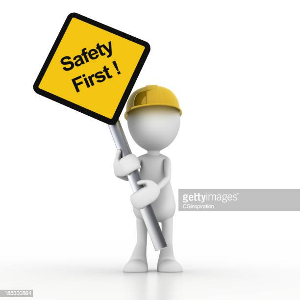safety first - cartoon stock pictures, royalty-free photos & images