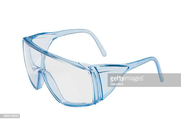 safety glasses with clipping path - protective eyewear stock pictures, royalty-free photos & images