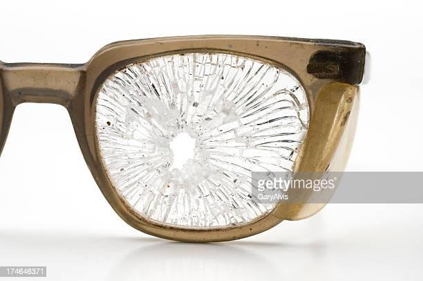 Sicherheit Brille-Nahaufnahme