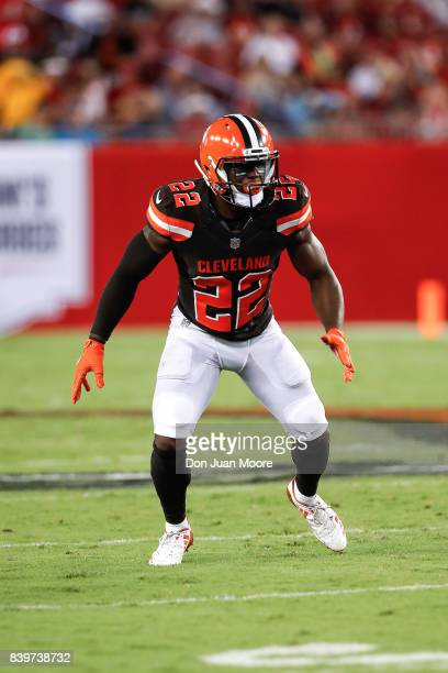 Safety Jabrill Peppers of the Cleveland Browns during the game against the Tampa Bay Buccaneers at Raymond James Stadium on August 26 2017 in Tampa...