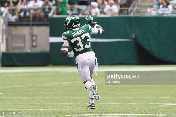 Safety Jamal Adams of the New York Jets in action against the Buffalo Bills at MetLife Stadium on September 8 2019 in East Rutherford New Jersey