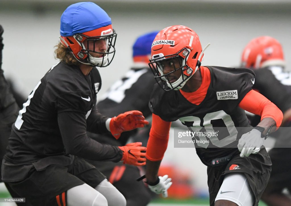 Cleveland Browns Rookie Mini Camp : News Photo