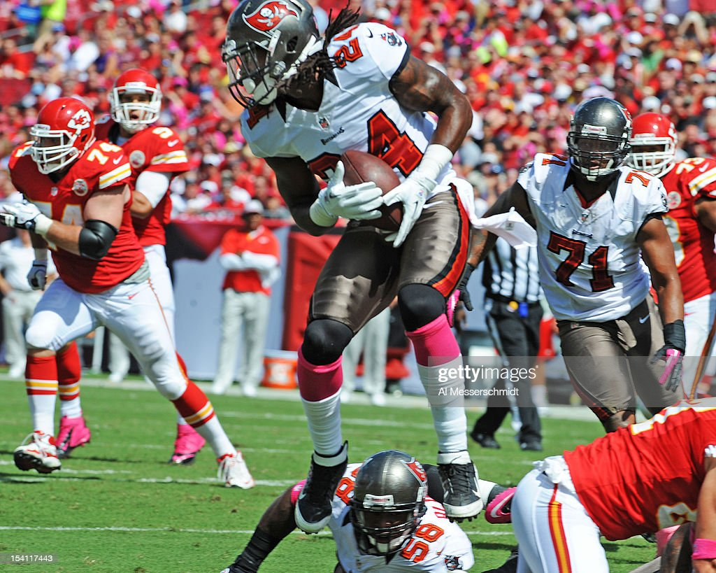 super popular 433ac 9d243 Safety Mark Barron of the Tampa Bay Buccaneers intercepts a ...