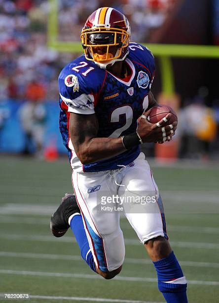 NFC safety Sean Taylor of the Washington Redskins during 3128 victory over the NFC in the NFL Pro Bowl at Aloha Stadium in Honolulu HI on Saturday...