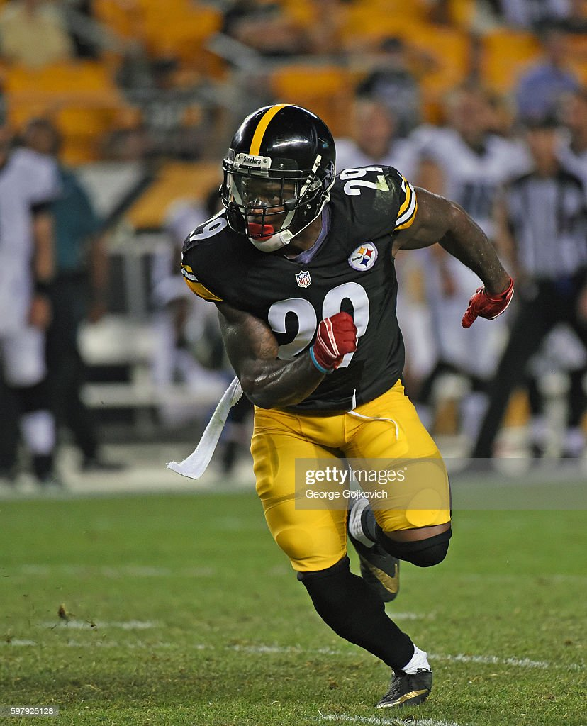quality design 52aff db102 Safety Shamarko Thomas of the Pittsburgh Steelers pursues ...
