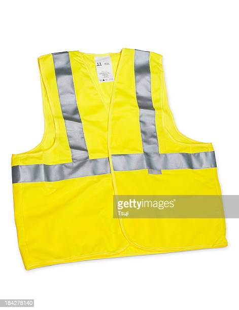 safety vest - waistcoat stock photos and pictures