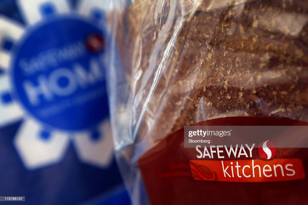 Safeway Inc. products are arranged for a photograph in Torrance, California, U.S., on Tuesday, July 16, 2013. Safeway Inc. is scheduled to release earnings figures on July 18. Photographer: Patrick T. Fallon/Bloomberg via Getty Images