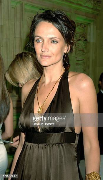 Saffron Aldridge attends the Dream Auction Full Stop party designed to launch NSPCC's There4Me online service an interactive but confidential website...