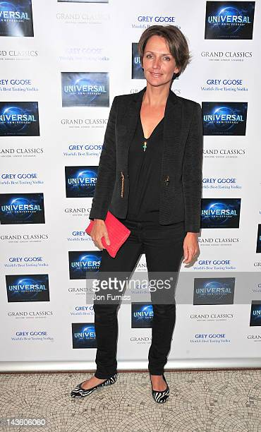 Saffron Aldridge attends Universal Pictures' 100th anniversary grand classics screening of 'National Lampoon's Animal House' at The Electric Cinema...