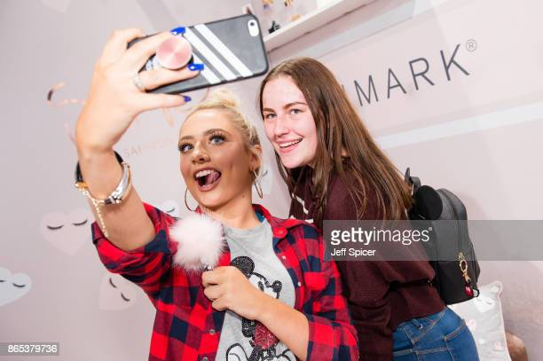 Saffron Barker meets fans as Primark launches exclusive Saffy B by Saffron Barker collection on October 23 2017 in London England