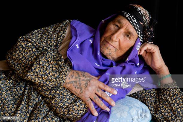 Safi Haso about 70 years old from Girik village of Kobane Syria photographed at a refugee camp in Turkey 'We are probably the last generation that...