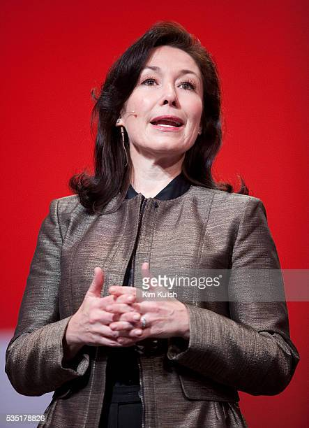 Safra Catz copresident of Oracle Corp speaks at the opening night of the Oracle OpenWorld Conference in San Francisco California Oracle is launching...