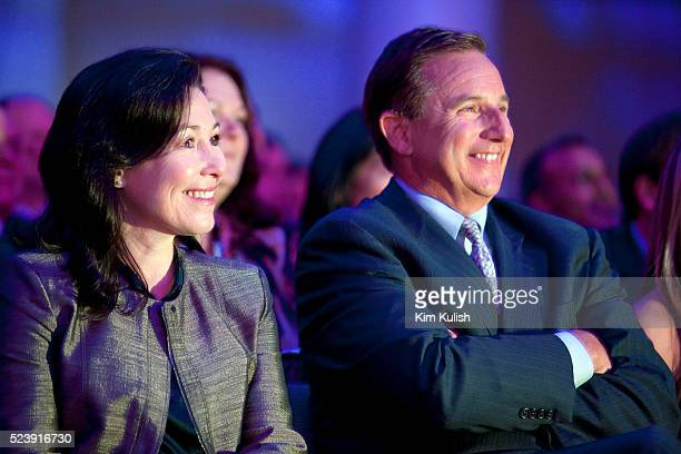 Safra Catz left and Mark Hurd right pictured together here in 2010 were named coCEO's of Oracle Corp after Larry Ellison stepped down from the...