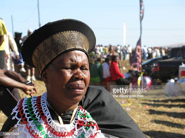 Safricaxx INPUTDATE: 09:45:40.150 CREDIT: Karin Brulliard/STAFF/TWP Nongoma, , South Africa A Zulu woman watches the reed dance ceremonies. Sent by:...