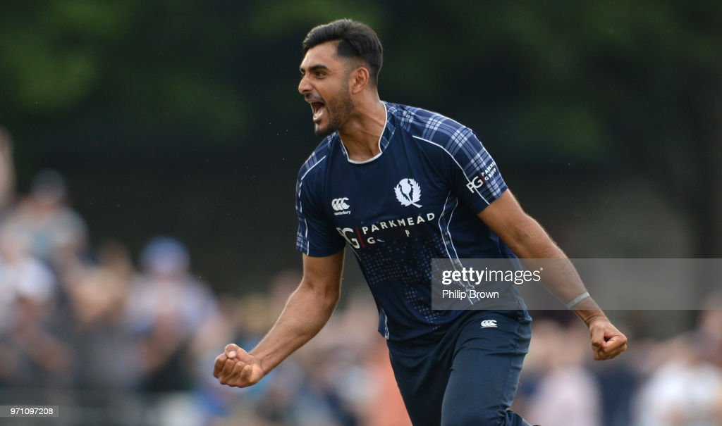 Scotland v England ODI : News Photo