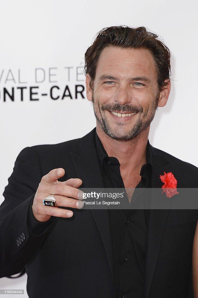 Sagamore Stevenin attends the opening ceremony of the 53rd Monte Carlo TV Festival on June 9, 2013 in Monte-Carlo, Monaco.